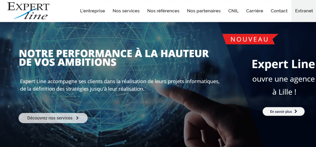 Expert line solution sécurité informatique